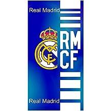 Real Madrid Toalla de Baño y Playa de Algodón con licencia Oficial.