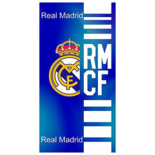 TOALLA TERCIOPELO ESTAMPADA REAL MADRID