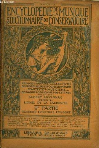 ENCYCLOPEDIE DE LA MUSIQUE & DICTION...
