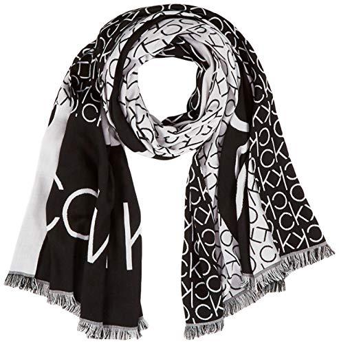 Calvin Klein Damen K60k606081 Mütze, Schal & Handschuh-Set, Schwarz (Black Bds), One size (Herstellergröße: OS)