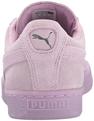 Puma Suede Classic + Mono Daim Baskets Orchid Bloom- Puma Silver