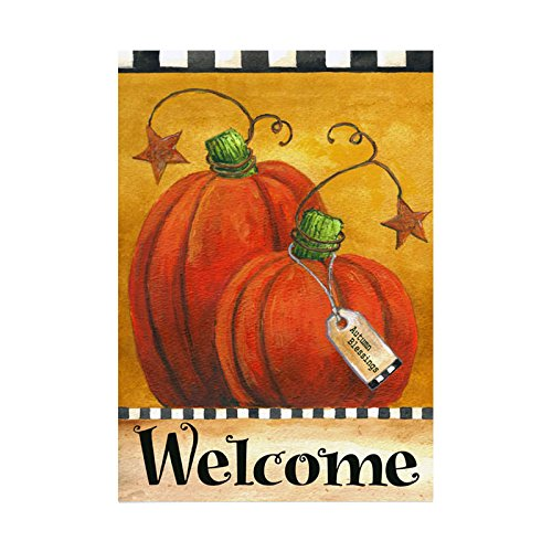Kicode attachmenttou Garten-Flagge Startseite hängend für Partei-Festival Halloween Danksagung...