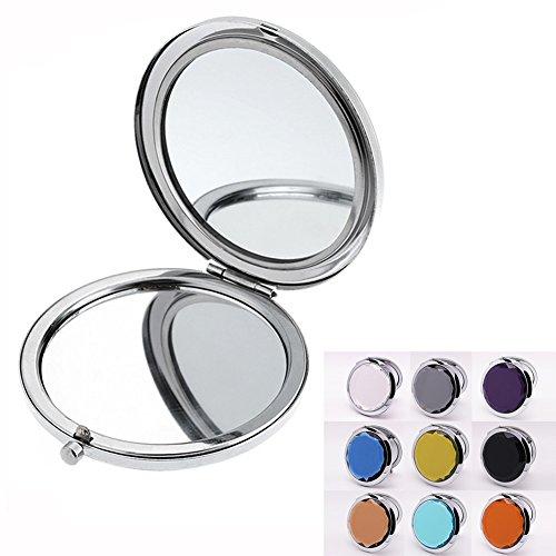Japonesque Wimpern (Beauty360 Damen-Taschenspiegel Reise Make Up Crystal 7x6cm (schwarz))