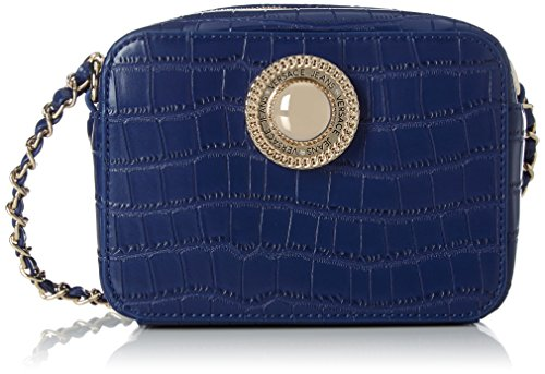 Versace Jeans Ee1vpbbc5_e75587, Borsa a Mano Donna, 7x13x17 cm (W x H x L) Blu (Prussian Blue)