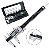 Calibro Digitale, Tencoz Digital Vernier Caliper 0-6 Inch / 150 mm Electronic Digital Caliper...