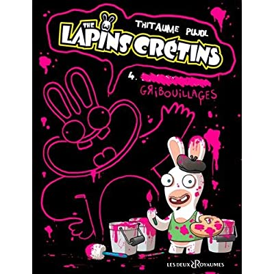 The lapins crétins, Tome 4 : Gribouillages