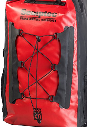 dry bag rucksack Semptec Urban Survival Technology Dry Bag: Wasserdichter Trekking-Rucksack aus LKW-Plane, 40 Liter, IPX6 (Kurierrucksack)