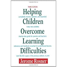 Helping Children Overcome Learning Difficulties by Jerome Rosner (25-Mar-2009) Paperback