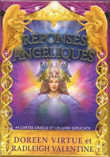 Réponses angéliques : 44 cartes oracle et un livre explicatif par Doreen Virtue, Radleigh Valentine