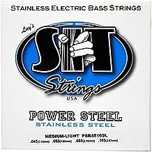 SIT PSR45105L - Juego de cuerdas para guitarra eléctrica de acero