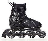 Inline Skates Inliner Raven Pulse Black verstellbar