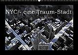 NYC - eine Traum-Stadt (Wandkalender 2017 DIN A2 quer): Eine Bilderserie über New-York-City, in welcher Schwarz-Weiss-Aufnahmen mit ... (Monatskalender, 14 Seiten ) (CALVENDO Orte)