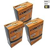 3x Continental Fahrrad Schlauch Cross 287003247Presta 60mm Ventil