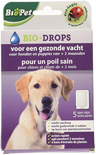 BSI 15122 BioPet Bio-Drops, für gesunde Haut, für Hunde und Welpen ab 2 Monaten