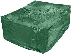 Draper 76234, Telo di copertura per tavoli da esterno, Verde, 270 x 206 x 105 cm (L x A x P)