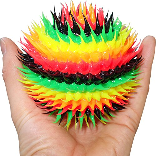 Rasta Rubber Bouncy Ball Unusual Unique Novelty Gift Present Toy Mini Football