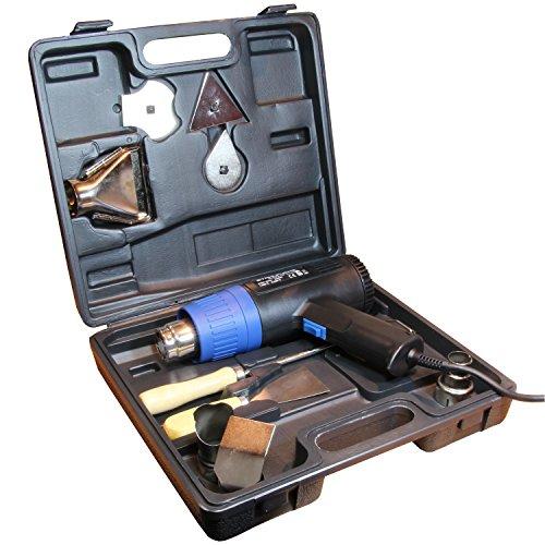 Heißluftfön Heißluftpistole Heißluft Fön Pistole Föhn mit Koffer 2 Stufen