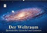 Der Weltraum. Spektakuläre Gasnebel und Galaxien (Wandkalender 2018 DIN A2 quer): Eine Reise in die wundervollen Weiten des Universums ... [Kalender] [Feb 14, 2016] Stanzer, Elisabeth - Elisabeth Stanzer