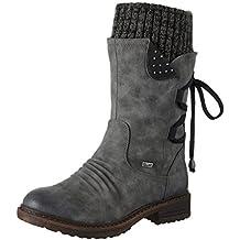 Großbritannien bekannte Marke größter Rabatt Suchergebnis auf Amazon.de für: RIEKER Stiefel, schwarz, mit ...