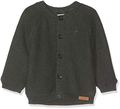 Noppies Unisex Baby Strickjacke U Cardigan Knit ls Dani, Grau (Dark Grey Melange C238), 50