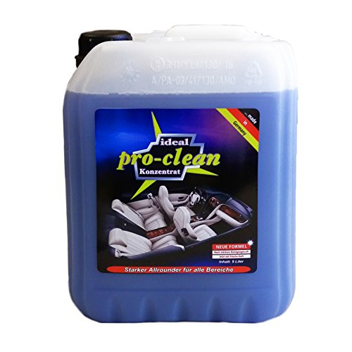 5 Liter pro-clean Reiniger Konzentrat für Tornador® Gun Classic Z-010, Z-020, Black Z-020 S, Polsterreiniger