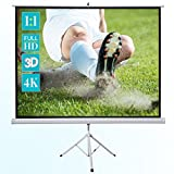 Ecran de projection sur pied ivolum 200 x 200 cm, Ecran de projection Format 1:1, Ecran de projection Home Cinema, Ecran de projection pour videoprojecteur, Ecran de projection 3D, Ecran de projection Full HD, Ecran de projection mobile, Ecran de projecti