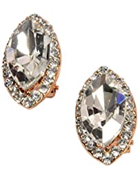 Mansiyaorange Korean Indo Western Exclusive Fancy Party Wedding Casual Wear Pierced Earrings Tops For Girls And...