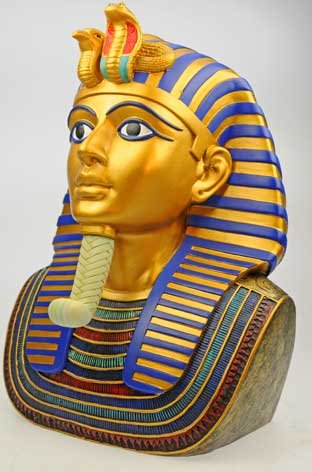 Totenmaske Büste des Tutenchamun Tut-Ench-Amun Replik Ägypten