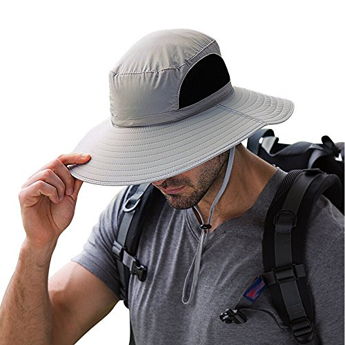 EINSKEY Sonnenhut Herren Damen UV Schutz Safari Hut Faltbar Wanderhut Gartenhut Boonie Fischerhut Wasserdicht Outdoor Buschhut Hiking Bucket Hat