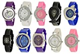 A R Sales Analogue Multicolor Dial Combo of 10 Women's Watch (AR 1+3+4+6+7+9+10+11+12+15)