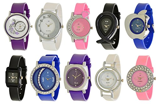 a r sales analogue multicolor dial women's watch( combo of 10) - ar 1+3+4+6+7+9+10+11+12+15 A R Sales Analogue Multicolor Dial Women's Watch( Combo Of 10) – Ar 1+3+4+6+7+9+10+11+12+15 51algoUMq4L