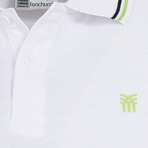 Fenchurch -  Polo  - Maniche corte  - Uomo Bianco