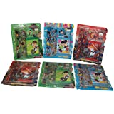 Parteet Birthday Party Return Gifts - Pack Of 6 Mix Stationery Kit Set For Kids - Assorted Colours