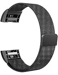 Fitbit Charge 2 Band, Simpeak Edelstahl Ersatzband Straps Armband für Fitbit Charge 2