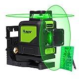 360 Grad Laser Level - Huepar 902CG Professioneller 45M Grüner Strahl Kreuz Laser Selbst Nivellierend, 360-Grad Vertikale und 360-Grad Horizontale Linie