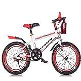 Bike 1 Geschwindigkeit Fahrräder Kinderfahrräder 16 Zoll 18 Zoll 20 Zoll Mountainbikes Für Jungen Und Mädchen,Red,20In