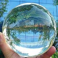 Hehilark Glaskugel Fotografenqualität Glaskugeln Kristallkugel 80mm gut zum fotografieren für deko/Fotografie/murmeln/Hause (80 mm)