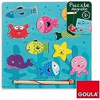 Goula Puzzle pesca magneticos para niños de 2 años - Peluches y Puzzles precios baratos