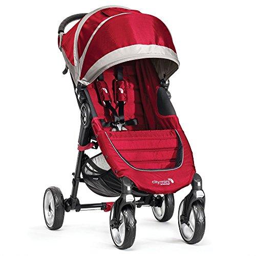 BABY JOGGER Bj-10436 City Mini 4 Rad, crimson / grau