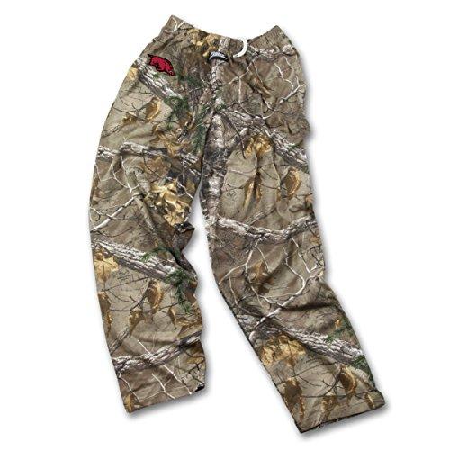 Zubaz Herren NCAA Realtree Xtra Camo Print Team Logo Casual Active Pants, Herren, Men's NCAA Realtree Xtra Camo Print Team Logo Casual Active Pants, Camouflage, Small -