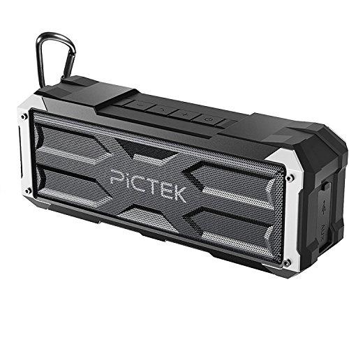 Altavoz Bluetooth,[20W 30h 4400mAh] Pictek altavoz inalámbrico, altavoz portátil impermeable exterior y...