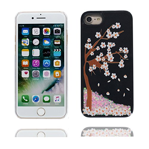 "iPhone 6 Coque, Bling Glitter Flowing Funny Silicone Ultra Slim, Case iPhone 6s Étui 4.7"", Shock Dust Resistant Shell iPhone 6 Cover 4.7"" Cartoon Earth Galaxy robot # 4"