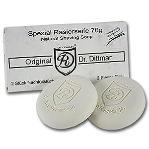 Dr. Dittmar 'Spezial' Rasierseife Nachfüllpack (2 x 70 g)