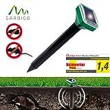 Gardigo Solar Maulwurfabwehr Basic, Maulwurfschreck, Maulwurfvertreiber, Maulwurf-Stopp, Wühlmausschreck 70020