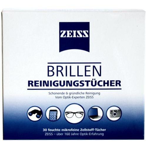 Zeiss Brillen Reinigungstücher (30 Tücher)