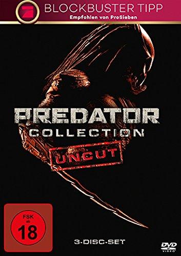Bild von Predator Collection: Predator / Predator 2 / Predators (3 Discs, Uncut)