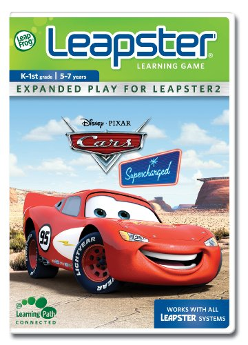 Disney Leapfrog Leapster Game Pixar Cars Supercharged - Leapster Leapfrog Autos
