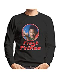 Fresh Prince Of Bel Will Smith Retro Photo Frame Men's Sweatshirt