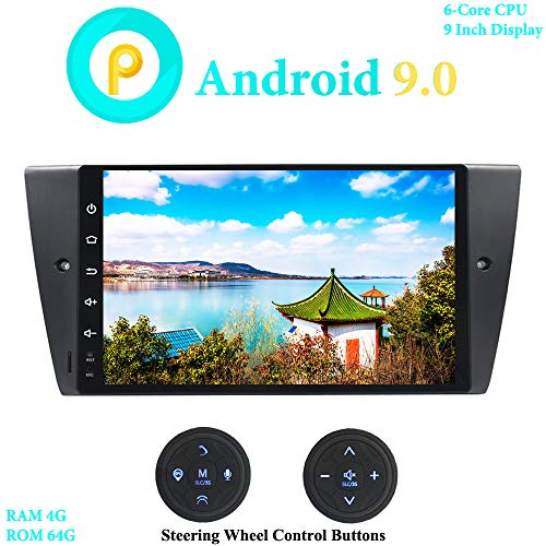 XISEDO 9 Pulgadas Android 9.0 Autoradio Coche 6-Core RAM 4G ROM 64G...
