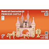Princess Castle QUAY Woodcraft Construction Kit FSC